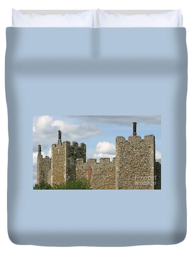 Castle Duvet Cover featuring the photograph Historic Castle by Ann Horn