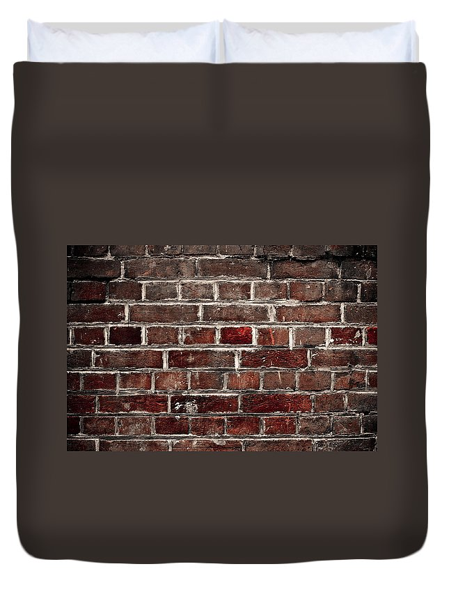 Wall Duvet Cover featuring the photograph Hit The Wall by Kelly Jade King