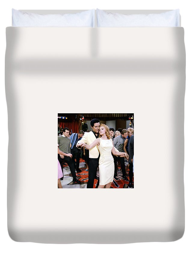 Hollywood Stars Celebrity Duvet Cover featuring the photograph Hollywood Stars Celebrity, Celebrities, Movie Stars, Film Stars, Motion Picture Stars, Stars Hall O by Peter Nowell