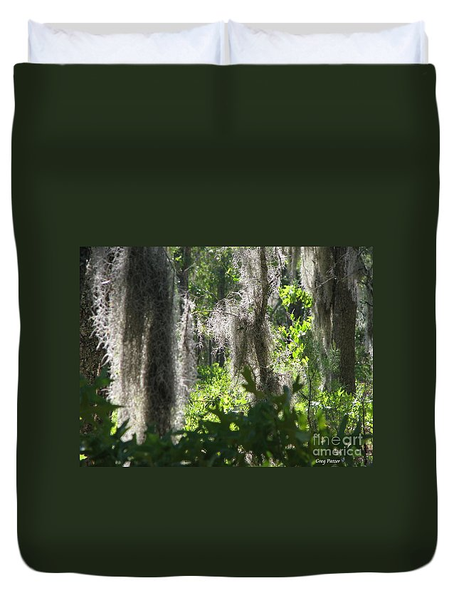 Florida Duvet Cover featuring the photograph Home by Greg Patzer