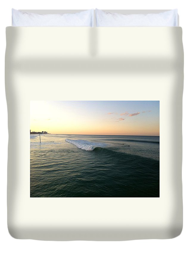 Beach Duvet Cover featuring the photograph Home by Jennifer Raines