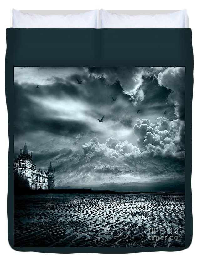Beach Duvet Cover featuring the photograph Home by Jacky Gerritsen