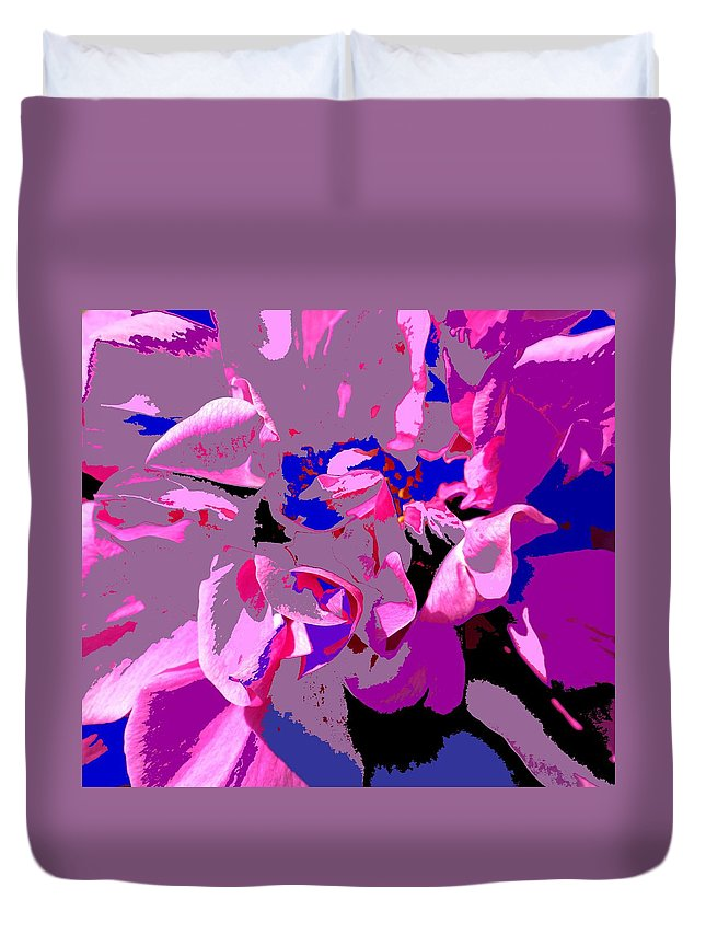 Rose Duvet Cover featuring the photograph Hope by Ian MacDonald