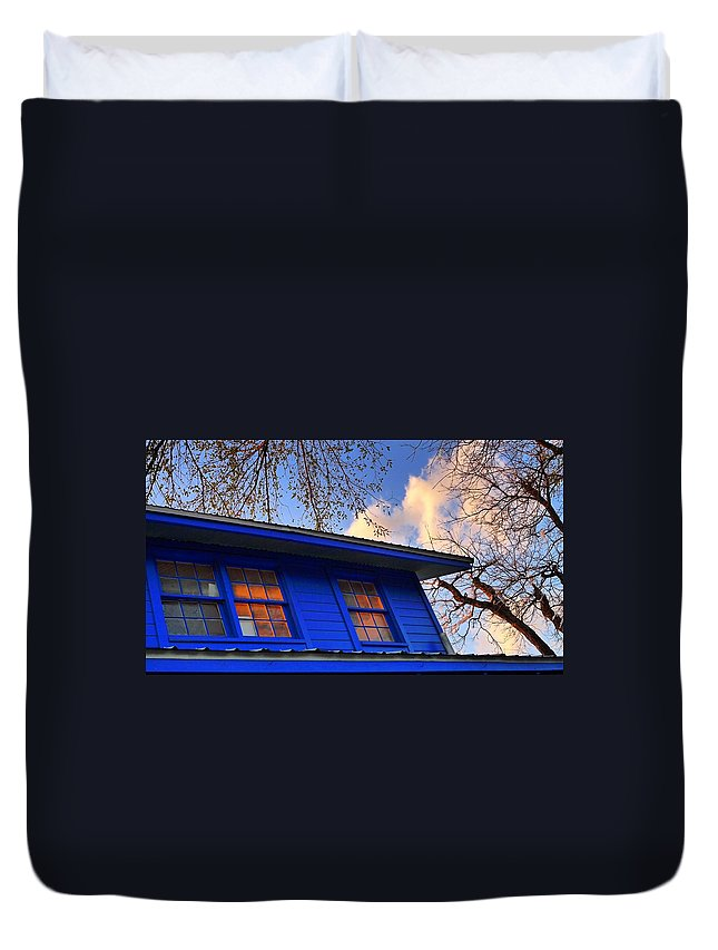 Hope Duvet Cover featuring the photograph Hope by Skip Hunt