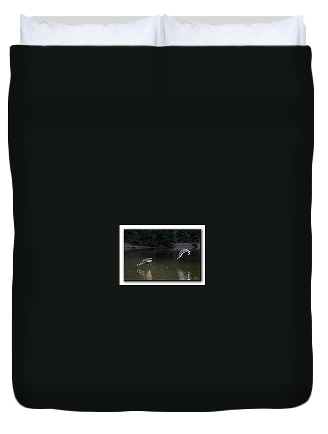 2d Duvet Cover featuring the photograph Hot Pursuit by Brian Wallace