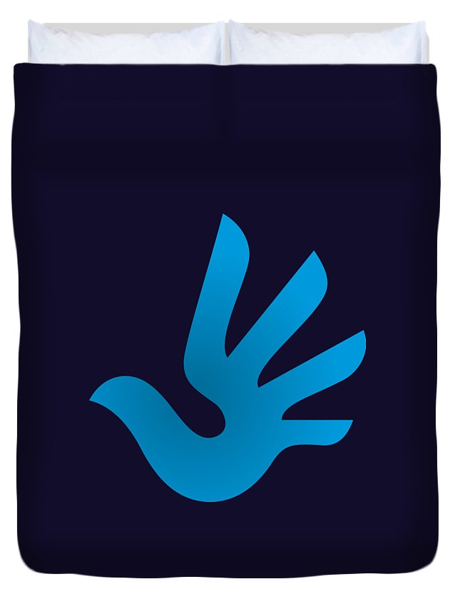 Human Rights Symbol Duvet Cover For Sale By Frederick Holiday