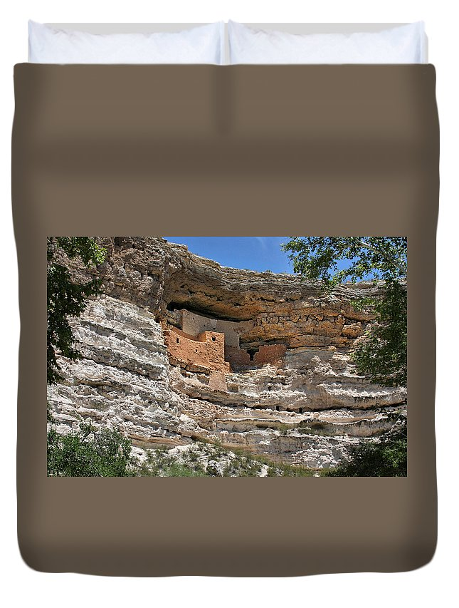 Culture Duvet Cover featuring the photograph I Am Aztec by Christine Till