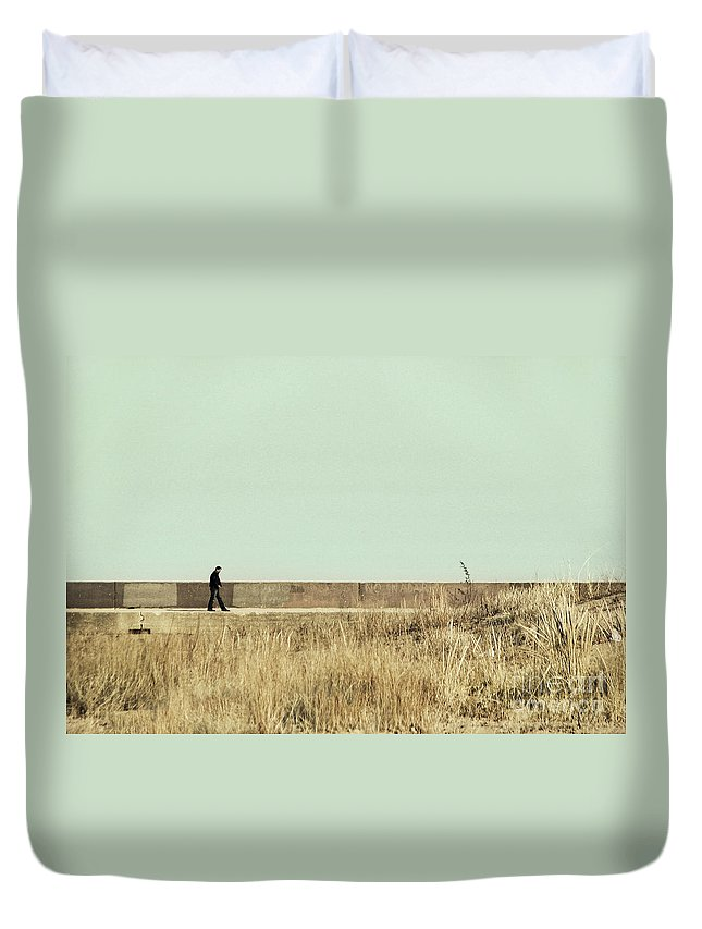 Dipasquale Duvet Cover featuring the photograph I Remember What We Said by Dana DiPasquale