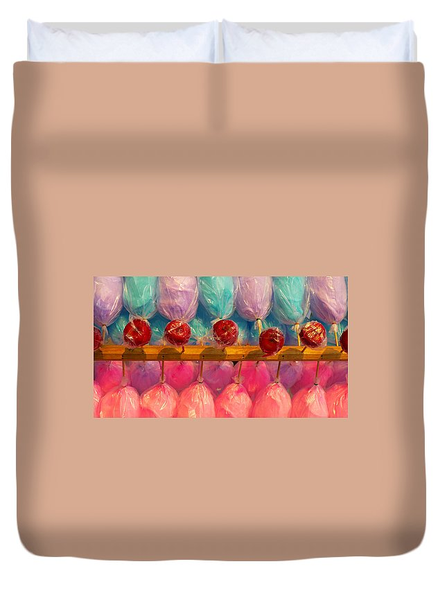Skip Hunt Duvet Cover featuring the photograph I Want Candy by Skip Hunt