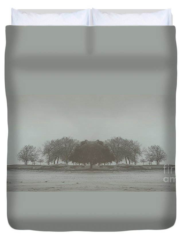 Landscape Duvet Cover featuring the photograph I Will Walk You Home by Dana DiPasquale