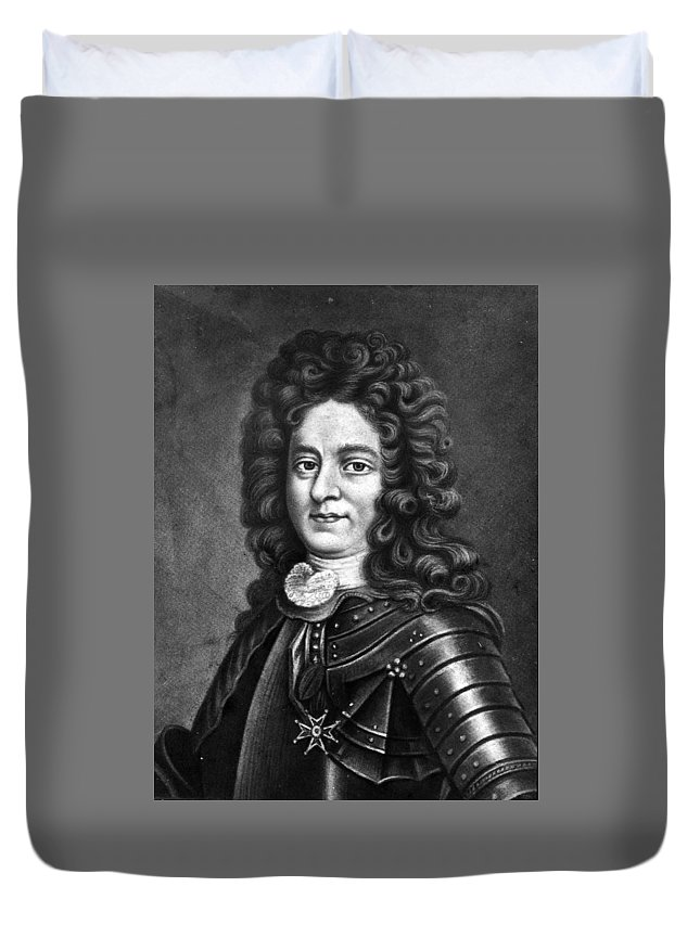 Iberville Duvet Cover featuring the photograph Iberville by Crescent City Collective