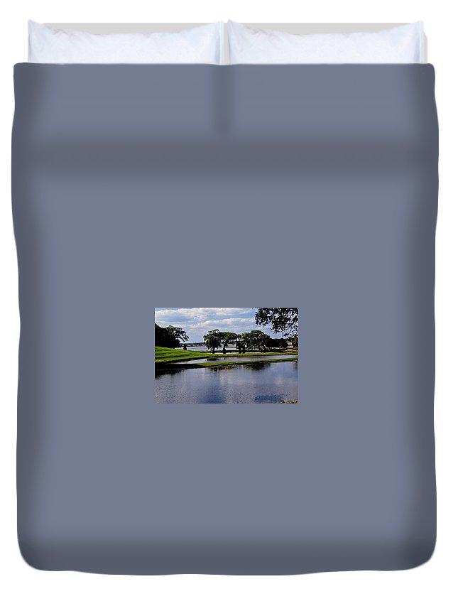 Lake Duvet Cover featuring the photograph Charleston South Carolina by Gary Wonning
