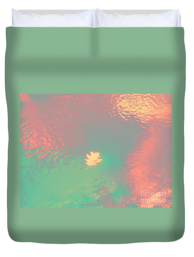 Abstract Duvet Cover featuring the photograph I'll Be There For You by Sybil Staples