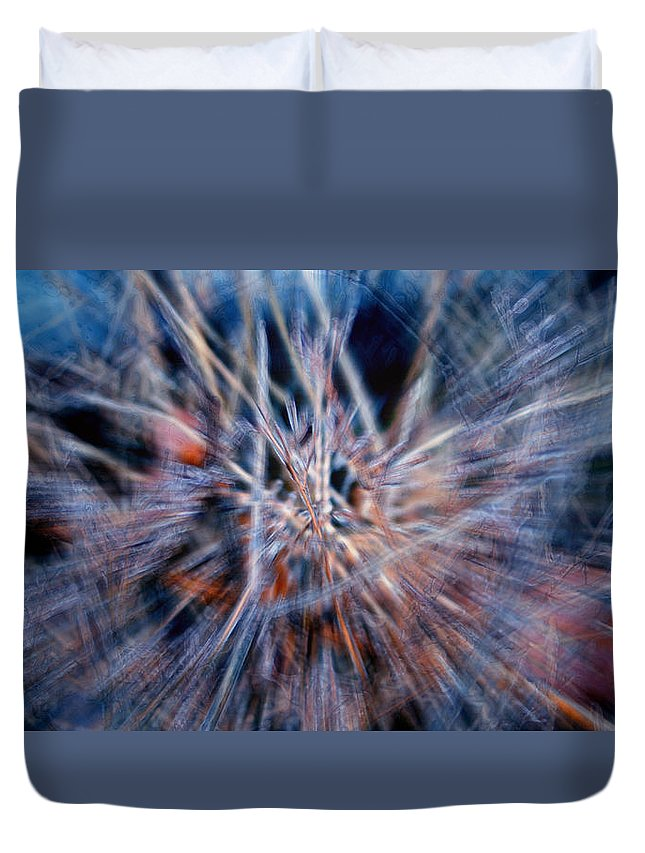 Abstracts Duvet Cover featuring the digital art I'm Dreaming by Linda Sannuti