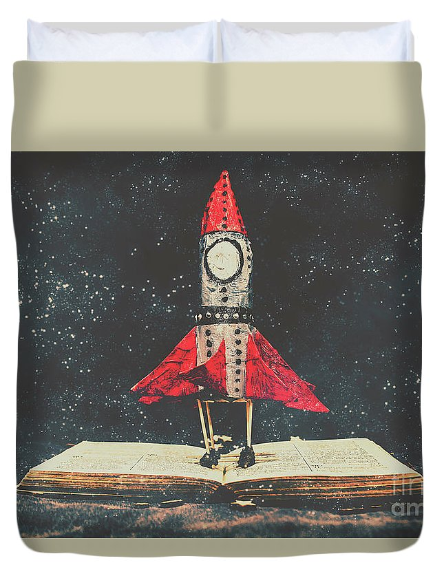 Education Duvet Cover featuring the photograph Imagination Is A Space Of Learning Fun by Jorgo Photography - Wall Art Gallery