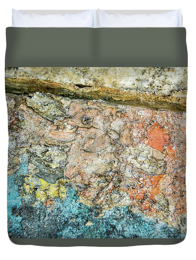 Abstract Duvet Cover featuring the photograph Imagination Is The Key by Isabella Biava