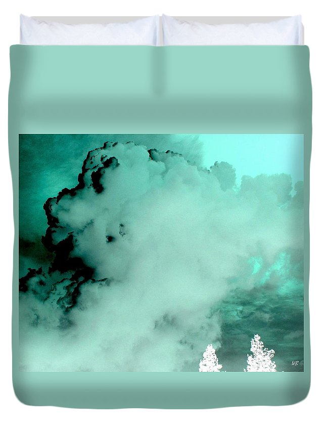 Impressions Duvet Cover featuring the digital art Impressions 10 by Will Borden