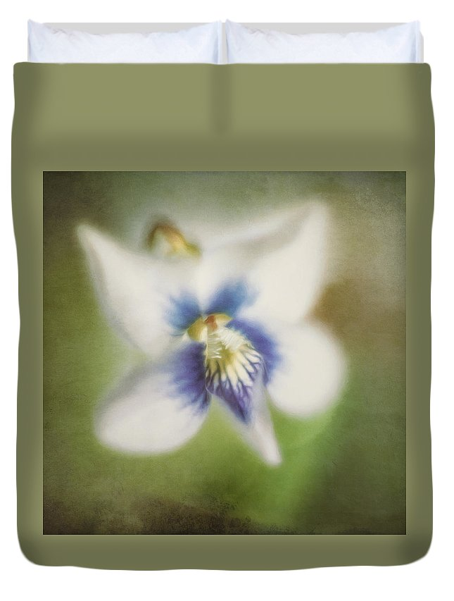 Flower Duvet Cover featuring the photograph Impressions of Spring by Scott Norris