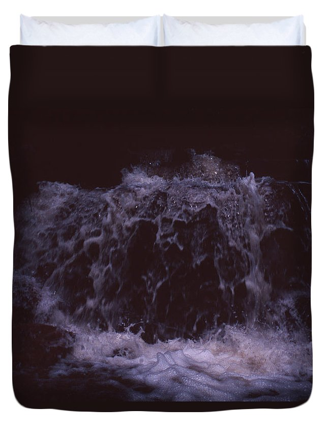 Bahia Duvet Cover featuring the photograph In A Bahian Waterfall by Patrick Klauss