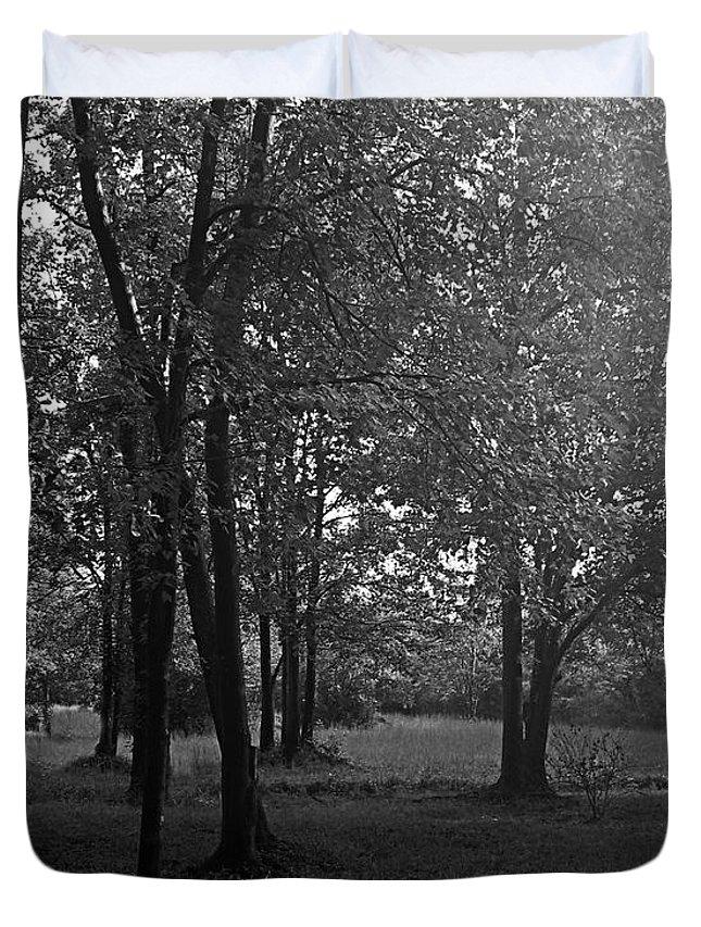 Feild Duvet Cover featuring the photograph In A Dream by Hannah Breidenbach