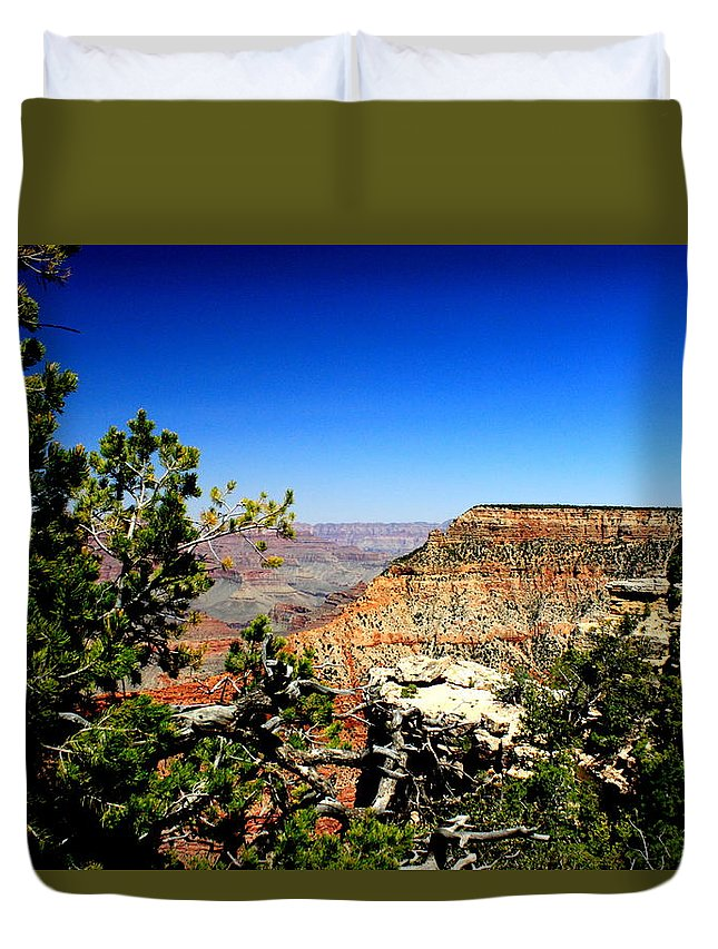 Grand Canyon Duvet Cover featuring the photograph In All It's Splendor By Earl's Photography by Earl Eells a
