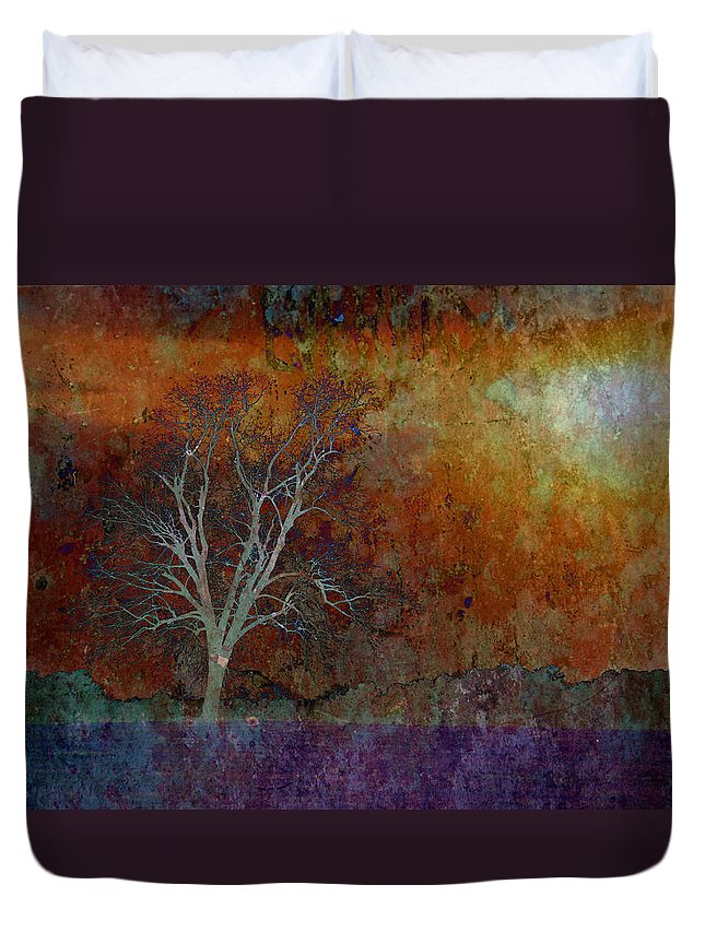 Landscapes Duvet Cover featuring the photograph In Last Night's Dream by Jan Amiss Photography