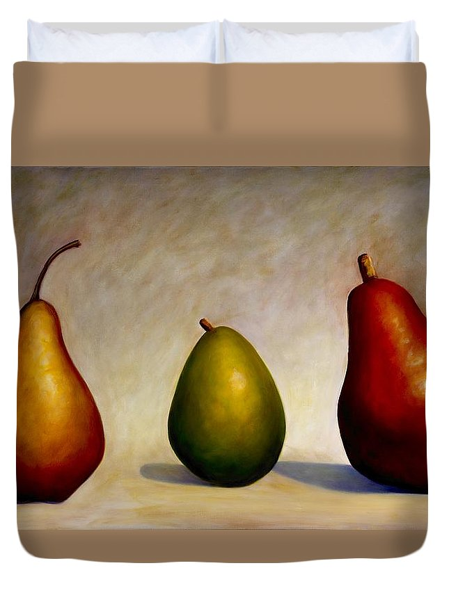 Still Life Duvet Cover featuring the painting In Repair by Shannon Grissom