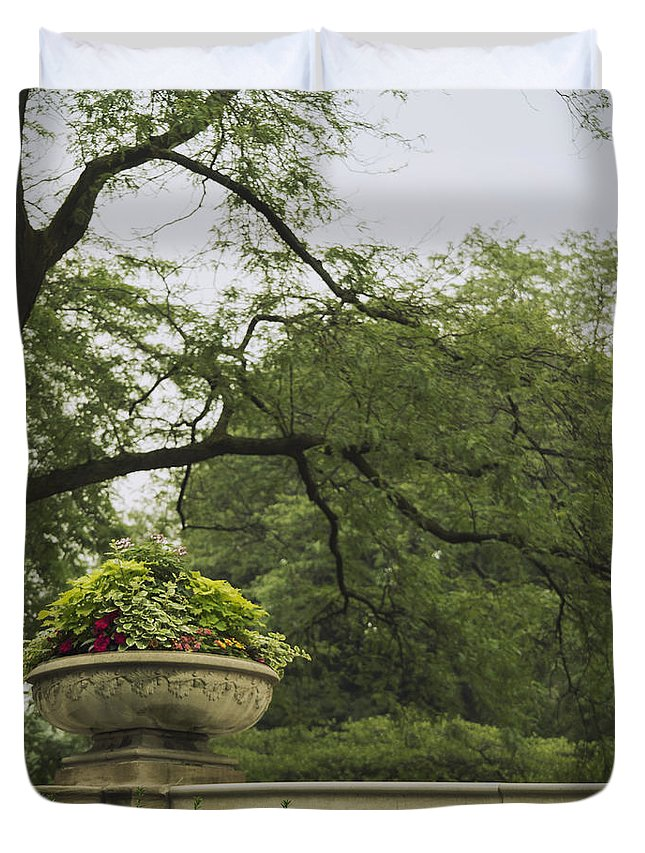 Ivy Duvet Cover featuring the photograph In The Spring by Margie Hurwich