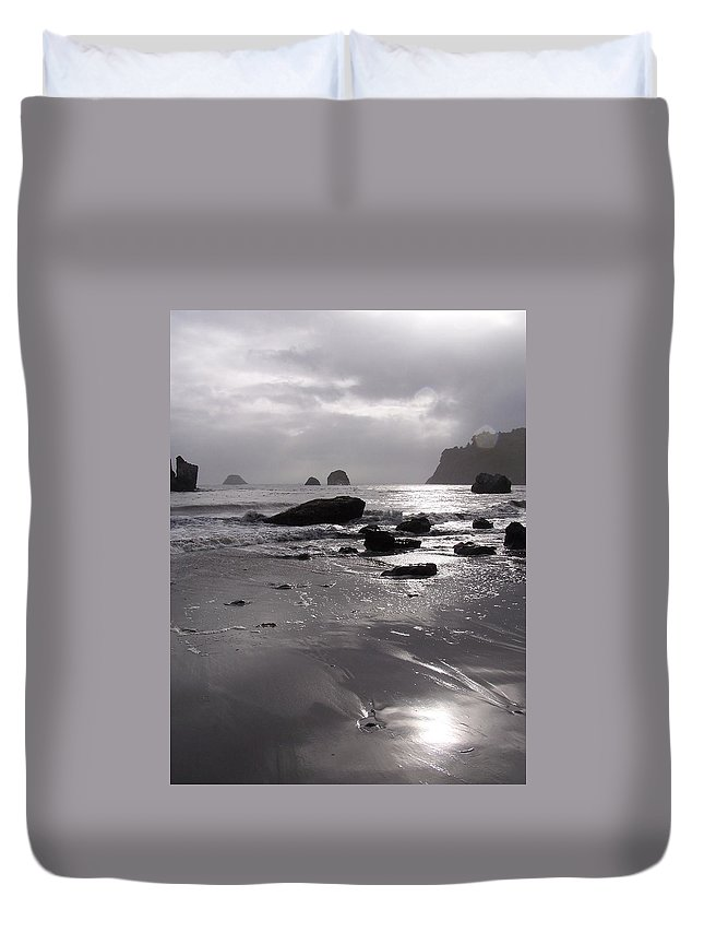 Beach Duvet Cover featuring the photograph Indian Beach by Gale Cochran-Smith