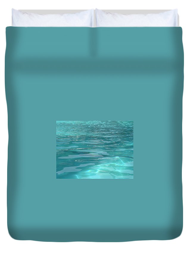 Duvet Cover featuring the photograph Inner Glow by Usha Shantharam