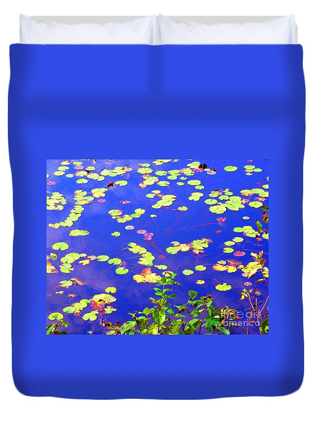 Water Duvet Cover featuring the photograph Innocence by Sybil Staples