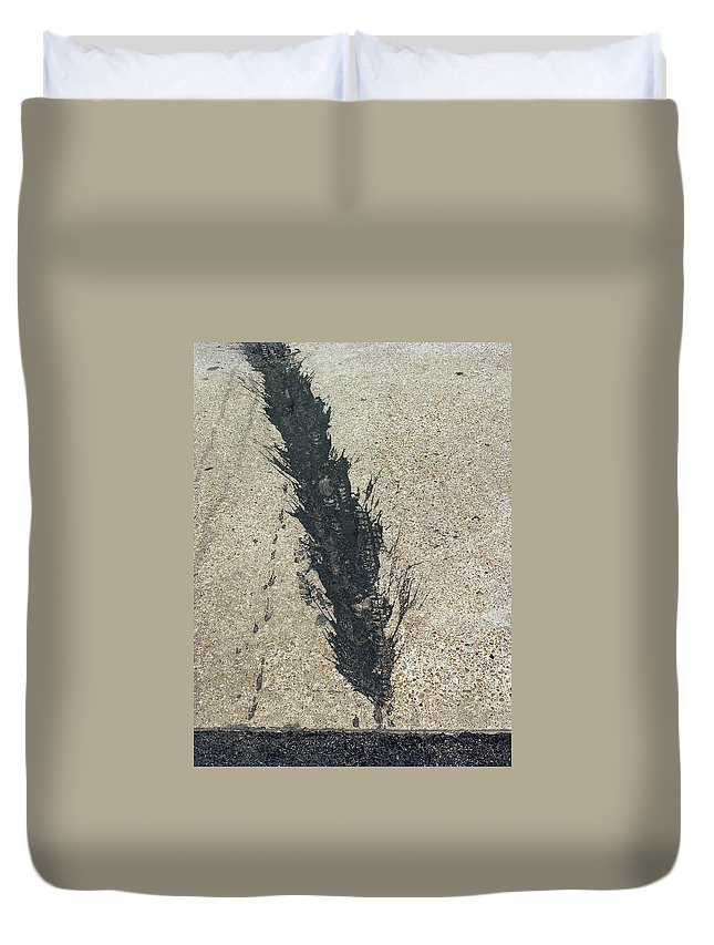 Duvet Cover featuring the photograph Inroad by Ross Odom