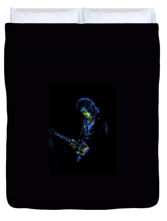 Black Sabbath Duvet Cover featuring the photograph Into The Cosmic Void by Ben Upham