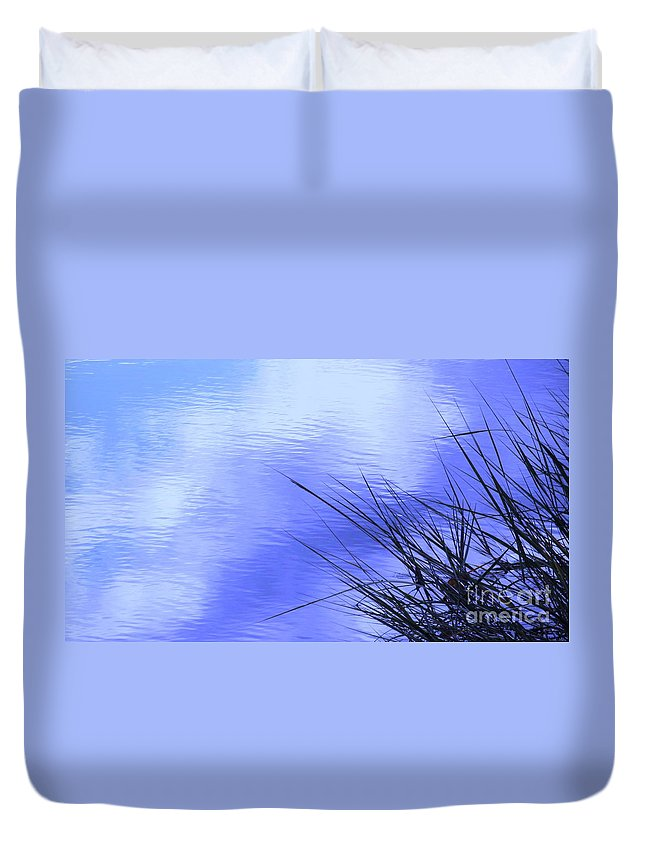Water Duvet Cover featuring the photograph Initiation by Sybil Staples