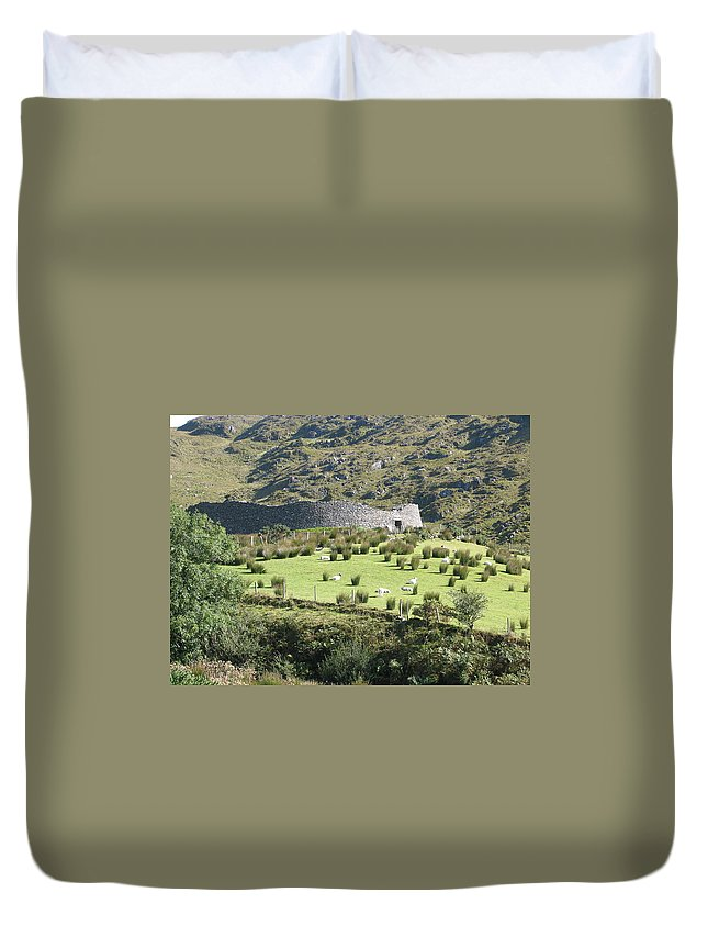Ireland Duvet Cover featuring the photograph Ireland by Kelly Mezzapelle