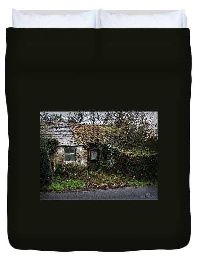 Hovel Duvet Cover featuring the photograph Irish Hovel by Tim Nyberg