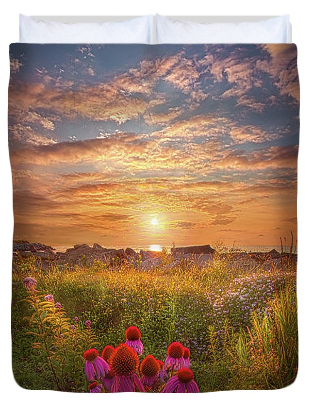 Outdoors Duvet Cover featuring the photograph Is Everything We Can by Phil Koch