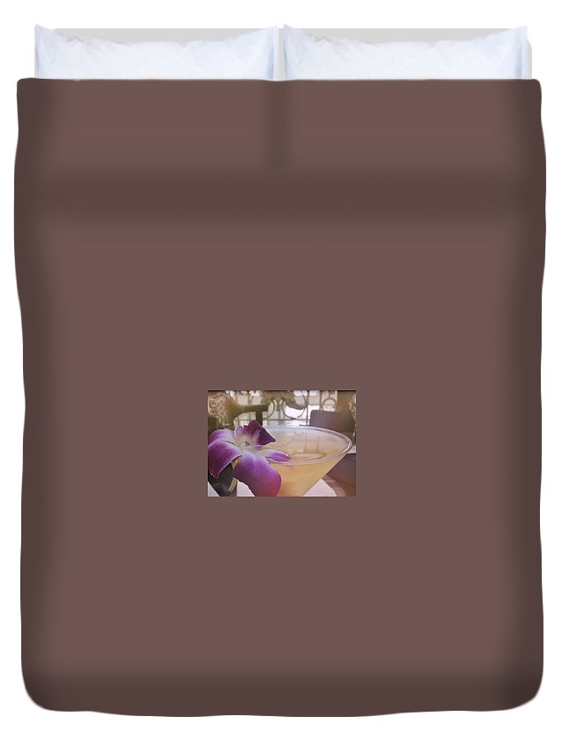 Hawaii Duvet Cover featuring the photograph Island Happy Hour by JAMART Photography