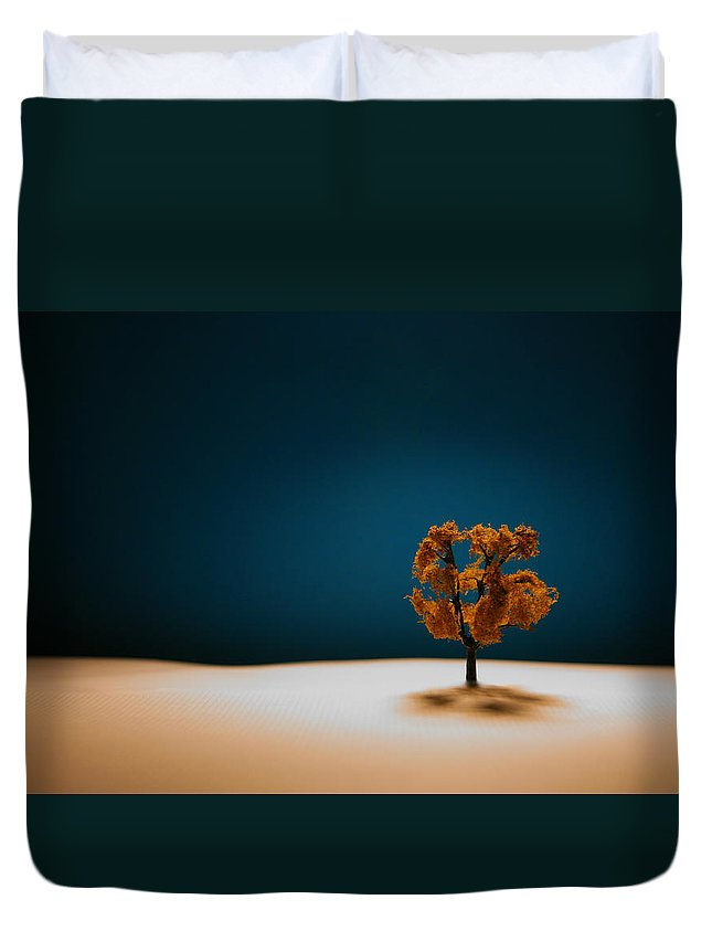 Tree Duvet Cover featuring the photograph It Is Always There by Mark Ross