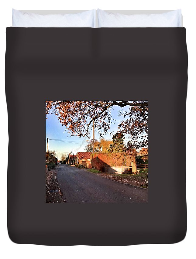 Kingslynn Duvet Cover featuring the photograph It Looks Like We've Found Our New Home by John Edwards