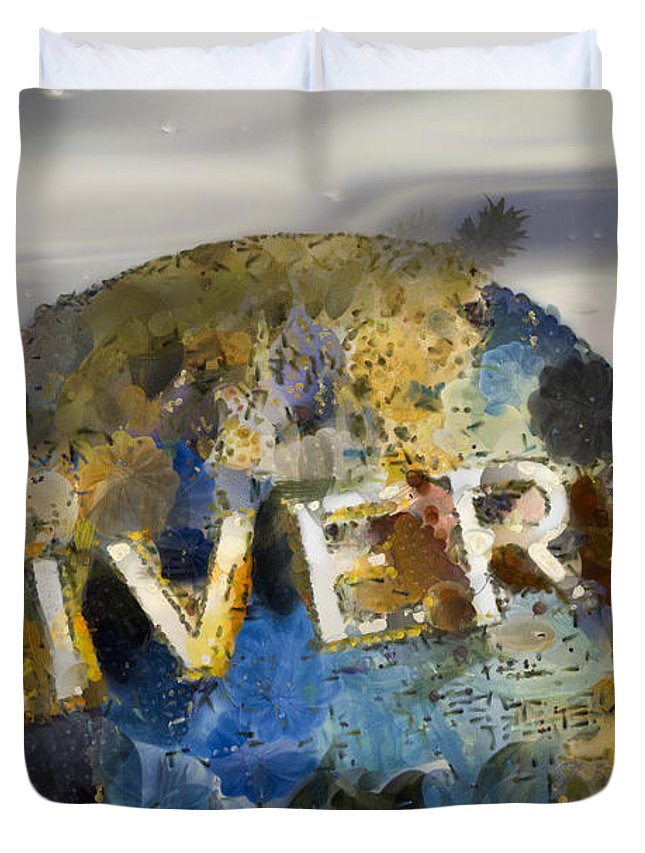 Universal Duvet Cover featuring the photograph It's A Universal Kind Of Day by Trish Tritz