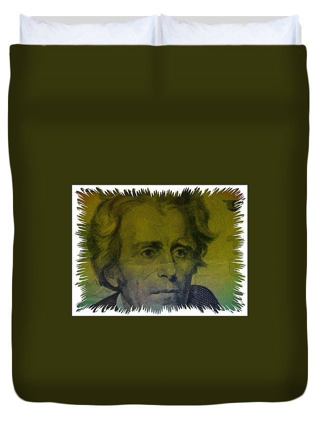 Jackson Duvet Cover featuring the photograph Jackson by Eddie G