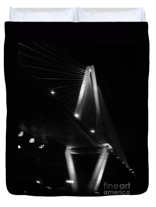 Bridges Duvet Cover featuring the photograph Jammin Life by Amanda Barcon