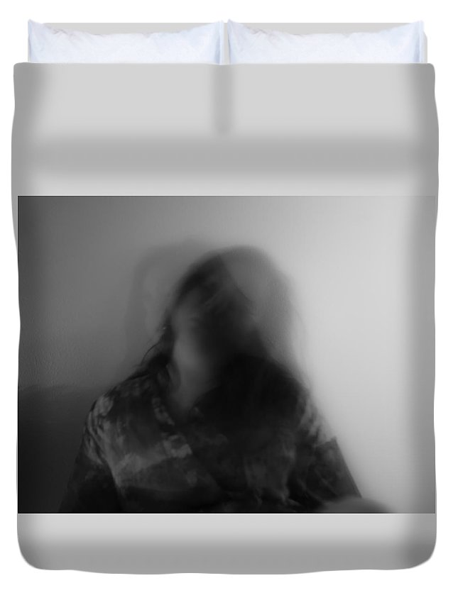 Photography Duvet Cover featuring the photograph Janus-faced by Stephanie Berry