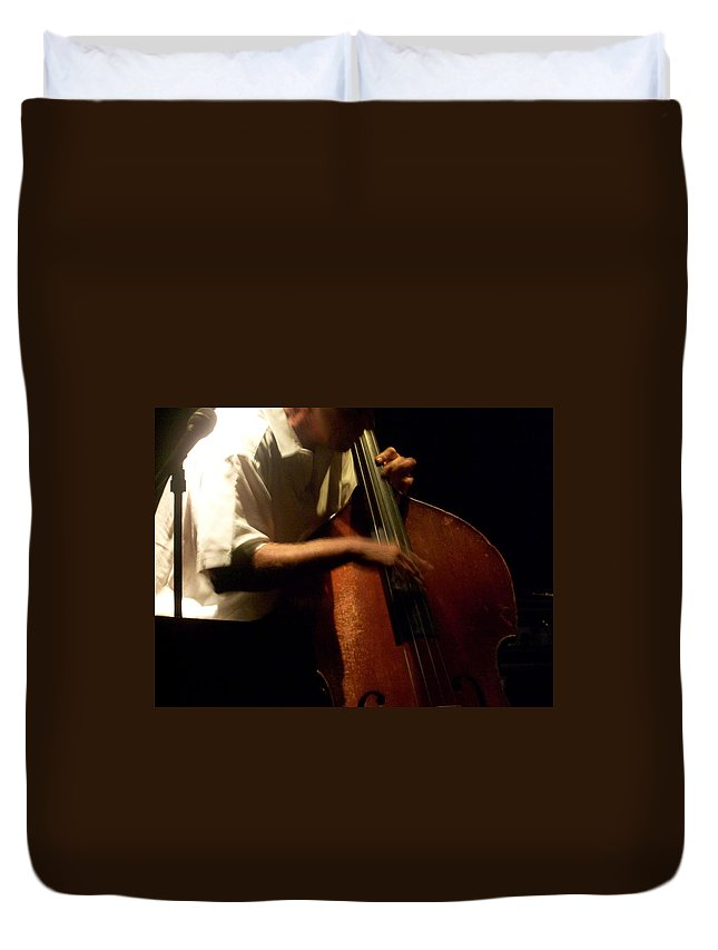 Jazz Duvet Cover featuring the photograph Jazz Estate 5 by Anita Burgermeister