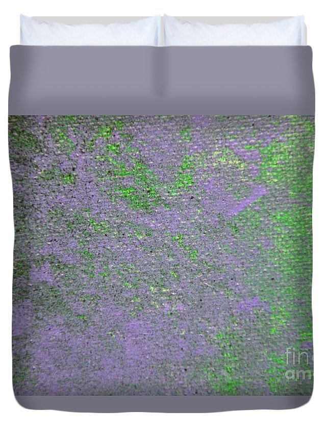 Joker Duvet Cover featuring the painting Joker by Zack Anderson