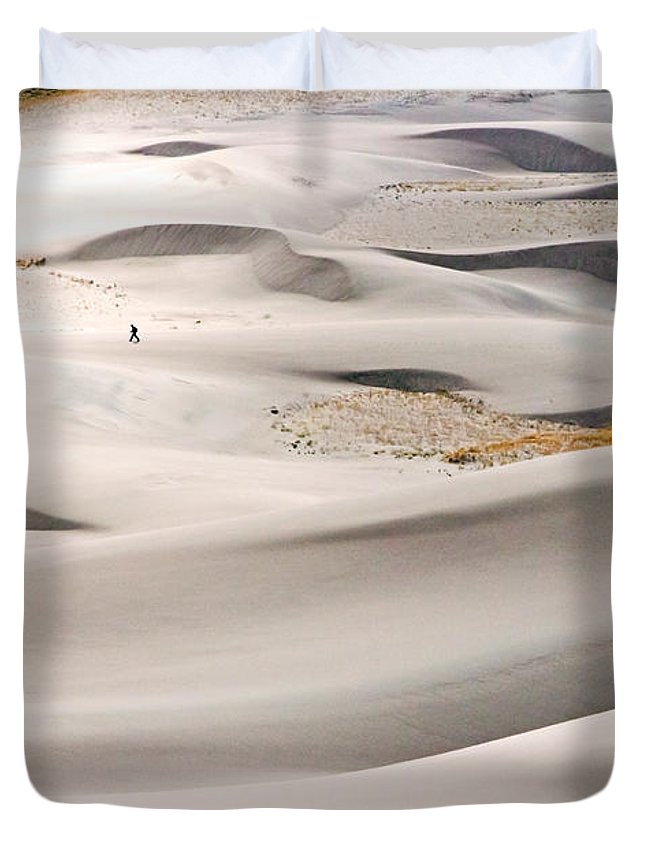 Journey Duvet Cover featuring the photograph Journey by Nicholas Blackwell