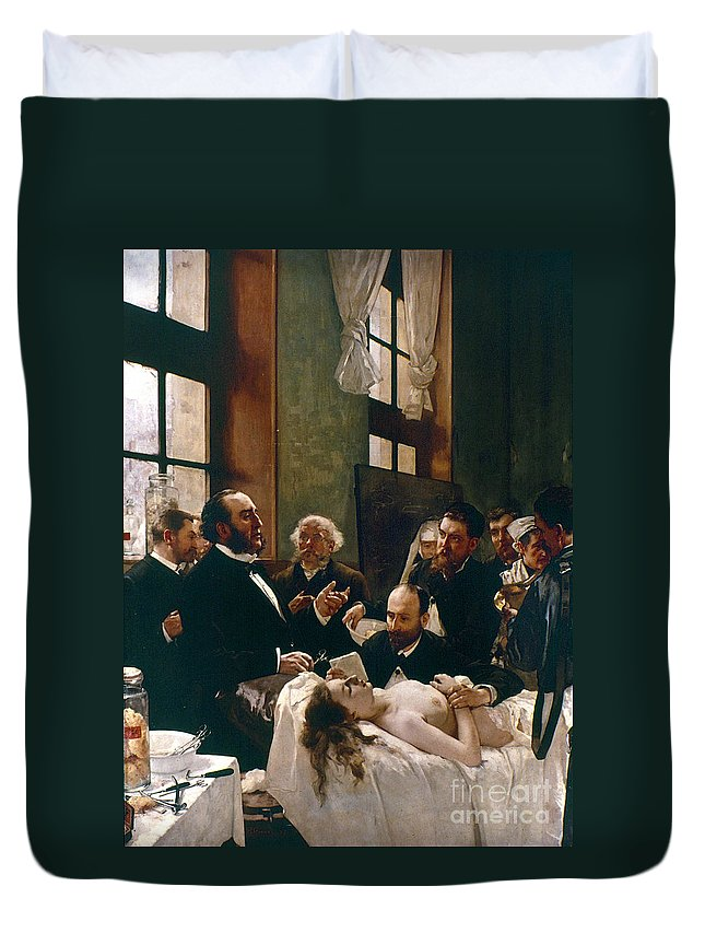1881 Duvet Cover featuring the photograph Jules Emile Pean (1830-1898) by Granger