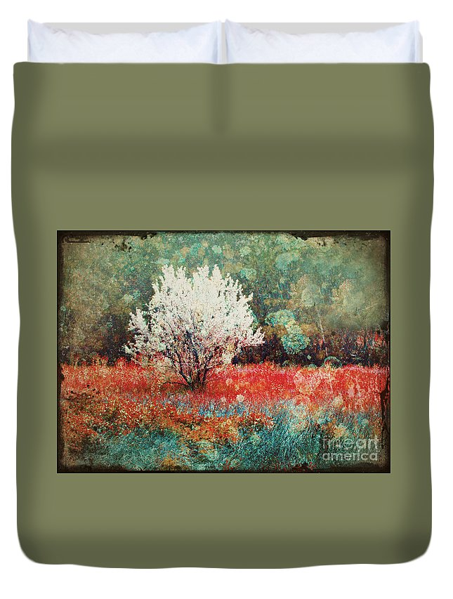 Tree Duvet Cover featuring the photograph June 4 2010 by Tara Turner