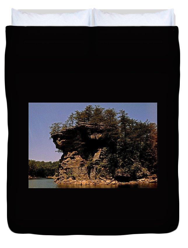 Kentucky Duvet Cover featuring the photograph Kentucky Wonder by Gary Wonning